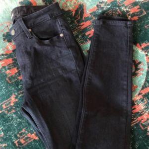 Paige High Waisted Skinny Jeans